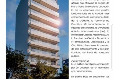 VENTA DEPARTAMENTO SAN JUAN 3224 DE UN DORMITORIO