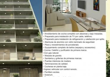 Modernos departamentos desde monoambiente a tres dormitorios